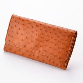 Damen-Geldbörse - Farbe: hellbraun