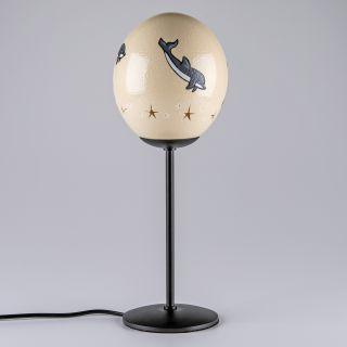 Lampen-Ei Delphin - detail