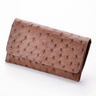 Damen-Geldbörse - Farbe: braun