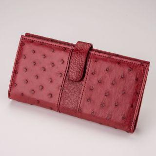 Damen-Geldbörse - Farbe: rot