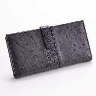 Damen-Geldbörse - Farbe: schwarz